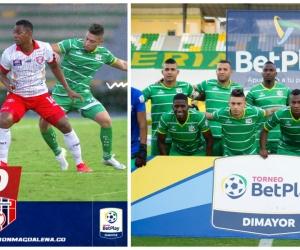 El Unión Magdalena fue derrotado 0-1 en Armenia.