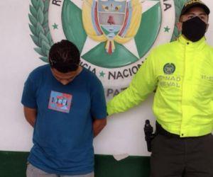 Capturado por la Policía.