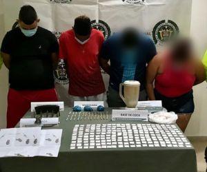 Los procesados fueron capturados en flagrancia el pasado 14 de septiembre.