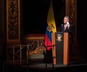 El presidente Duque advirtió que seguirá denunciando a la dictadura.