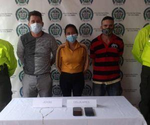 Yorgy Noe Espinoza Valecillos, Jesús Vicel Colmenares Tona y Yasmina Del Valle Espinoza Aguilar.