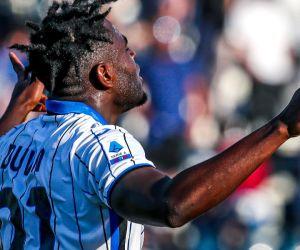 Zapata ingresó en la segunda parte y marcó al minuto 90.
