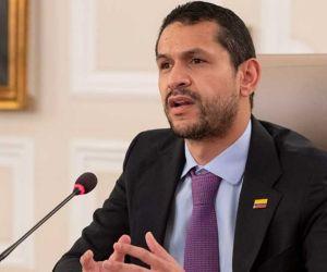 Ministro del Interior, Daniel Palacios.