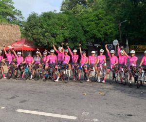 Una actividad liderada por la Fundación Corazón Rosa.