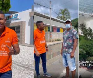 Miguel Polo Polo realizó nuevamente el Tour de la corrupción en Santa Marta