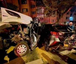 accidente en Medellín.