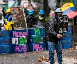 Primera Línea en Bogotá