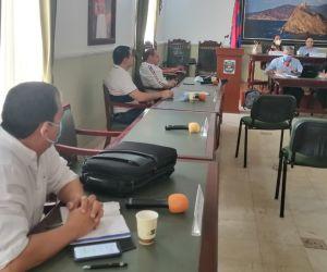 La sesión se llevó a cabo en la mañana de este jueves.