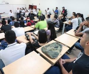 Estudiantes del programa Talento Magdalena.