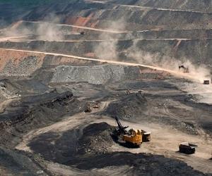 Minas de carbón propiedad de Prodeco, en el Cesar.