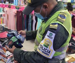 Operativos de control por parte de la Policía Fiscal y Aduanera.