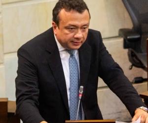 Eduardo Pulgar, senador capturado.