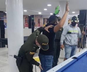 Acciones de la Policía durante el fin de semana.