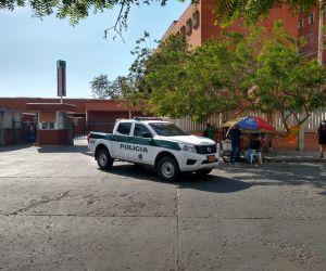 La Policía investiga las causas de este atentado a bala.
