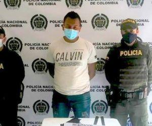 Deiver Prada Gómez, alias 'Morocho'.