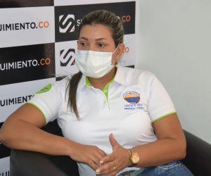 Luz Dary Rodríguez, coordinadora del área de Posgrados de la Facultad de Ciencias Empresariales y Económicas.
