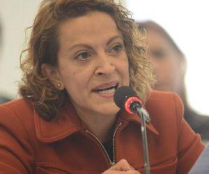 La periodista Jineth Bedoya.