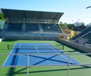 Parque de raquetas.