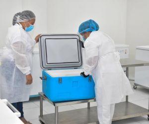 Este nuevo lote de vacunas corresponden a la farmacéutica Pfizer.