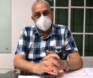 Henrique Toscano Salas, secretario de Salud del Distrito de Santa Marta.