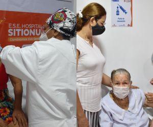 A corte 5 de marzo había sido aplicada la primera dosis de la vacuna Sinovac a 266 mayores de 80 años.