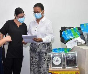 Se entregaron 23 equipos médicos