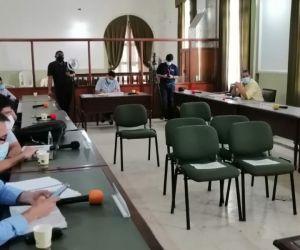 La sesión se llevó a cabo en la mañana de este martes.