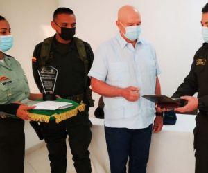 El reconocimiento fue entregado en la Sociedad Portuaria de Santa Marta
