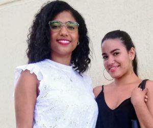 Keila Rebolledo Castillo y Andreina Daza Gámez