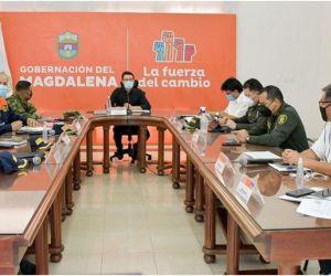 Se realizó un nuevo Comité Territorial de Seguridad con miras a concertar la ejecución de más de 7 mil millones de pesos para el fortalecimiento de la Fuerza Pública.