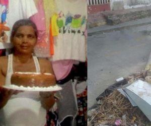 Zoila Rosa Valdez perdió la vida cuando le cayó un poste encima.