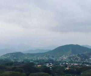 Este martes 23 de marzo la ciudad amaneció nublada, después de una larga sequía.
