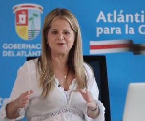 Elsa Noguera, gobernadora de Atlántico.