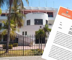 La Gobernación del Magdalena emitió una circular para obligar a ir a los funcionarios y contratistas.