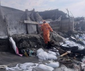 Casas afectadas Puebloviejo