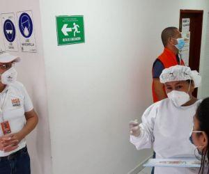 Visita inspección Secretaría de Salud