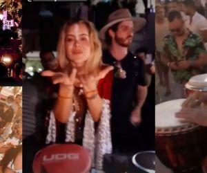 Natalia París promovió un covid-show en Cartagena.