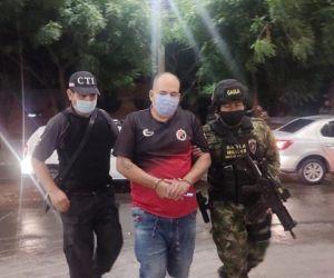 José Benildo Durán, alias 'Pato', capturado.