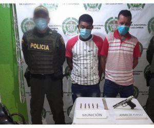David Jesús Retamozo Coronado, de 47 años y Jannys Carlos Cantillo Camargo, de 29 años.