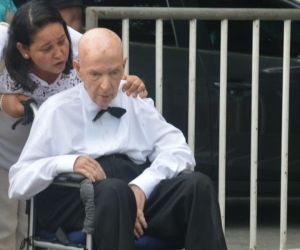 Luis Aurelio Vives, durante el matrimonio de Carlos Vives y Claudia Elena Vásquez