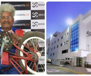 José de los Santos Ariza sigue firme luchando contra el coronavirus.