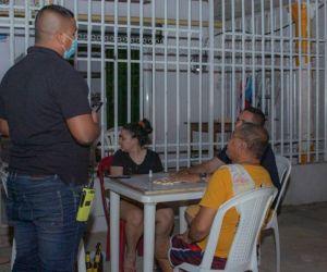 Intervenciones de las autoridades durante el fin de semana.