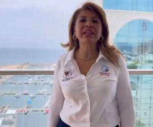 María Victoria Quiñones Triana, presidenta del Tribunal Administrativo del departamento.