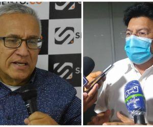 Adolfo Bula (izquierda) será el nuevo secretario del Interior, en reemplazo de José H Torres (derecha).