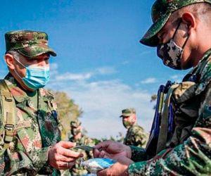 A los militares colombianos le detectaron la cepa británica.