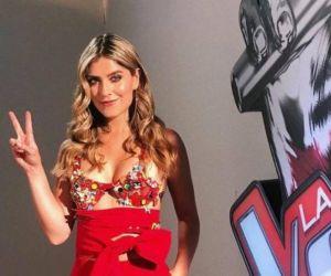 Laura Tobón, presentadora del concurso.