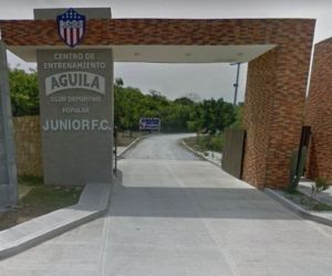 Sede deportiva del Junior de Barranquilla.