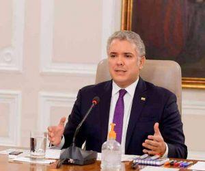 Iván Duque, presidente de la República.
