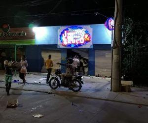 Saqueo Justo & Bueno, Santa Marta.