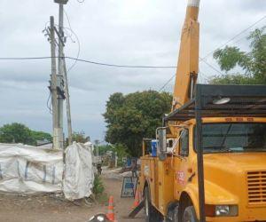 Intervenciones de Air-e en Zona Bananera.